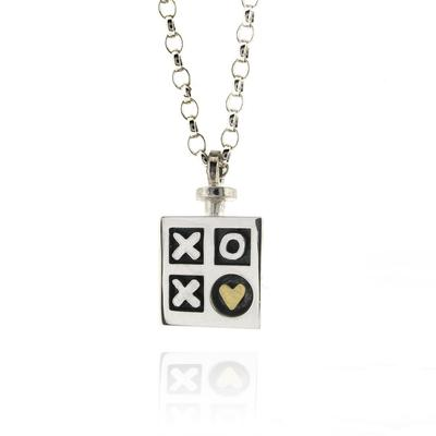 Hugs and Kisses pendant