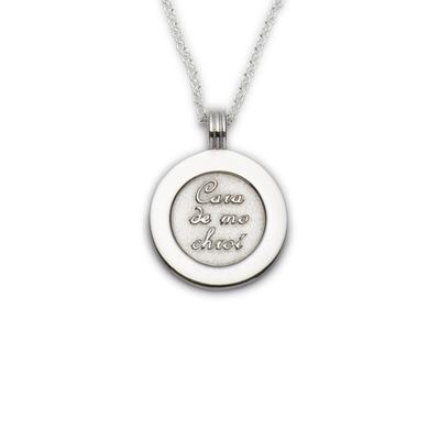 Coins Friend of my Heart pendant