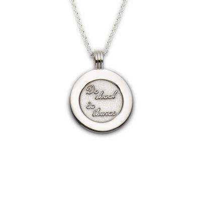 Coins Your Life pendant