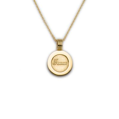Coins Happiness pendant