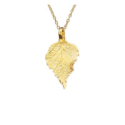 Raspberry Leaf mini pendant