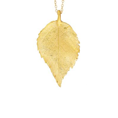 Raspberry Leaf pendant