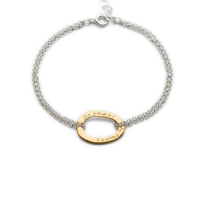 Your Life gold/silver bracelet