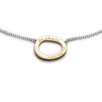 Your Life gold/silver mini pendant