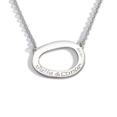 silver sterling personalized vertical bar love listing life il dainty this necklace