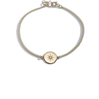 Light my way diamond gold bracelet