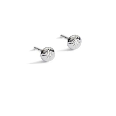 Light my way diamond studs