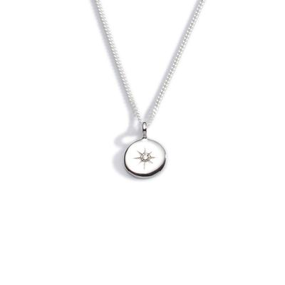 Light my way diamond pendant